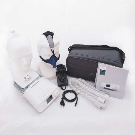 Deluxe Pack Auto CPAP DreamStation with Humidifier