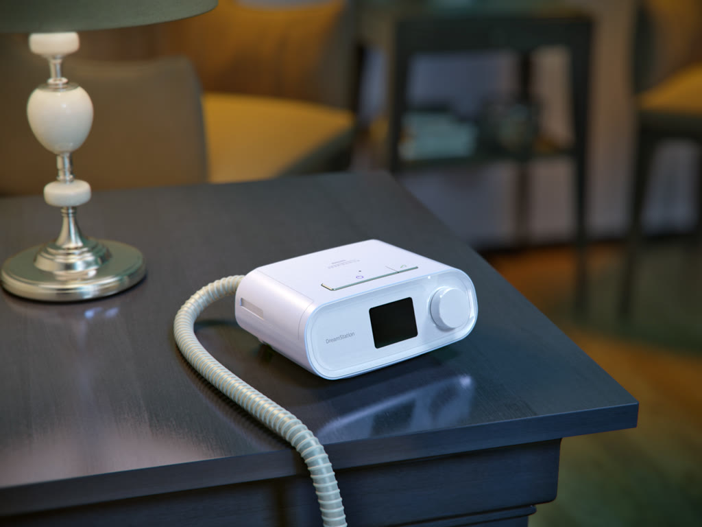 CPAP DreamStation Pro with Humidifier | TuTratamiento com