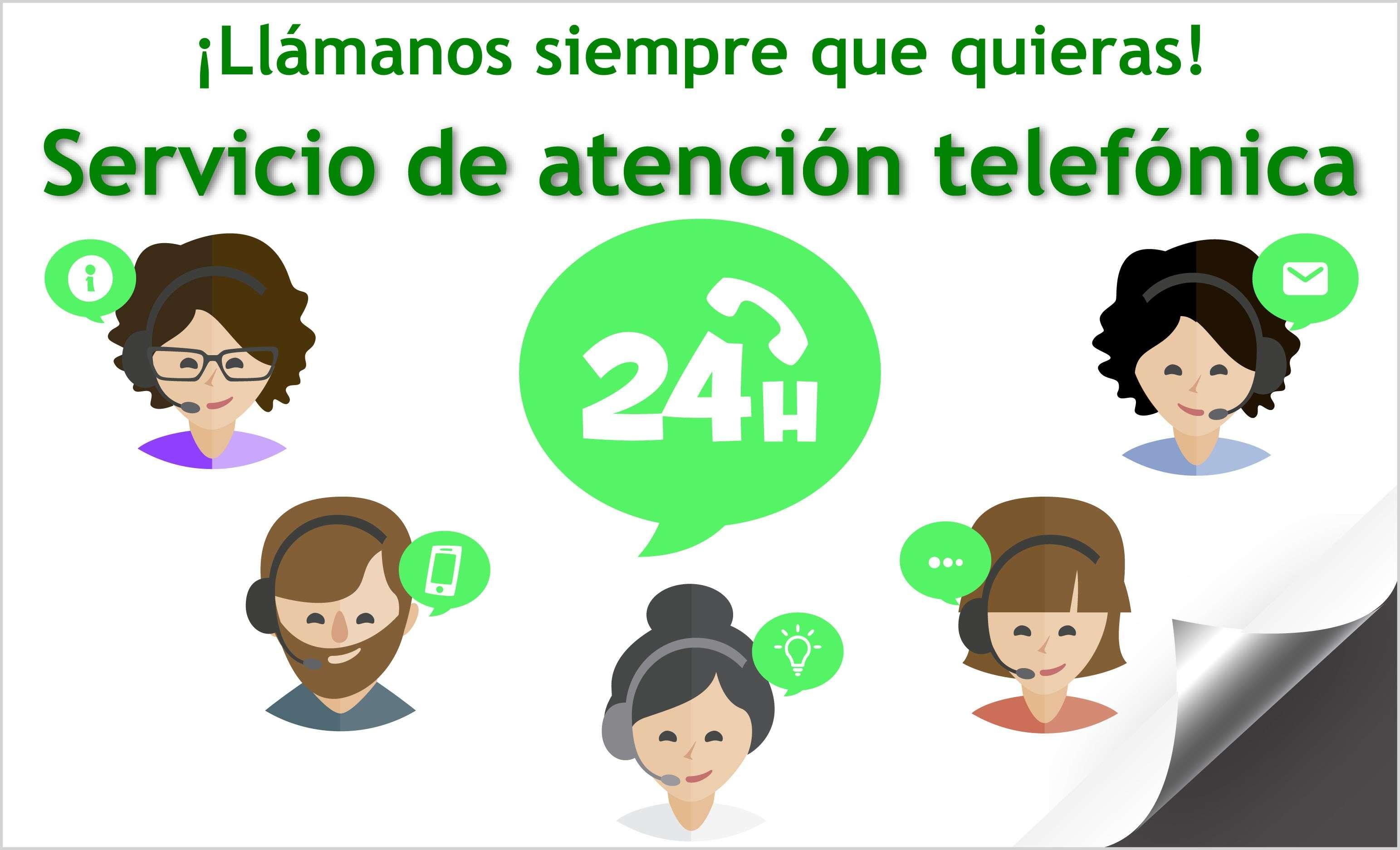 Servicio de Atención Telefónica 24 horas