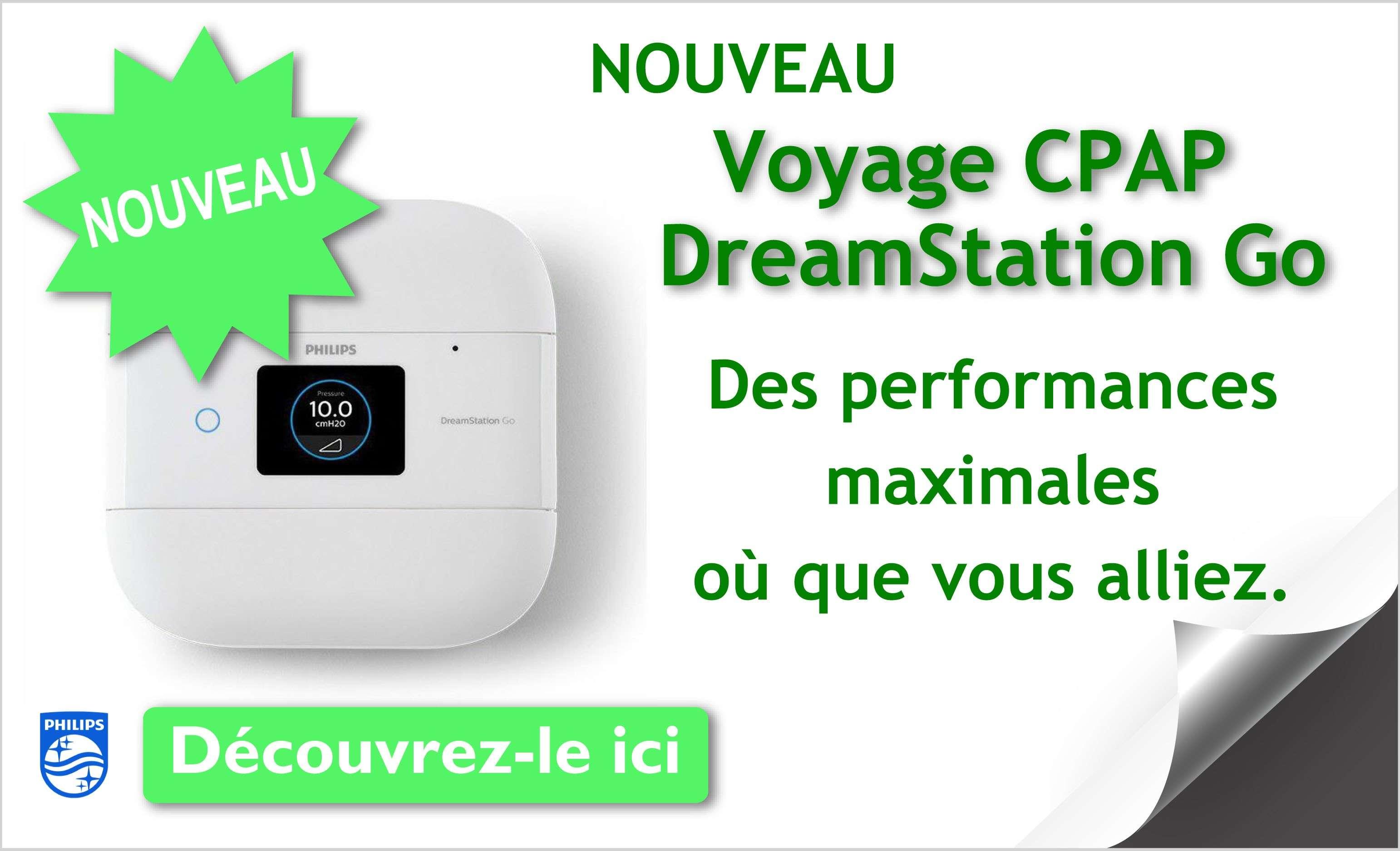 CPAP de Voyage DreamStation Go