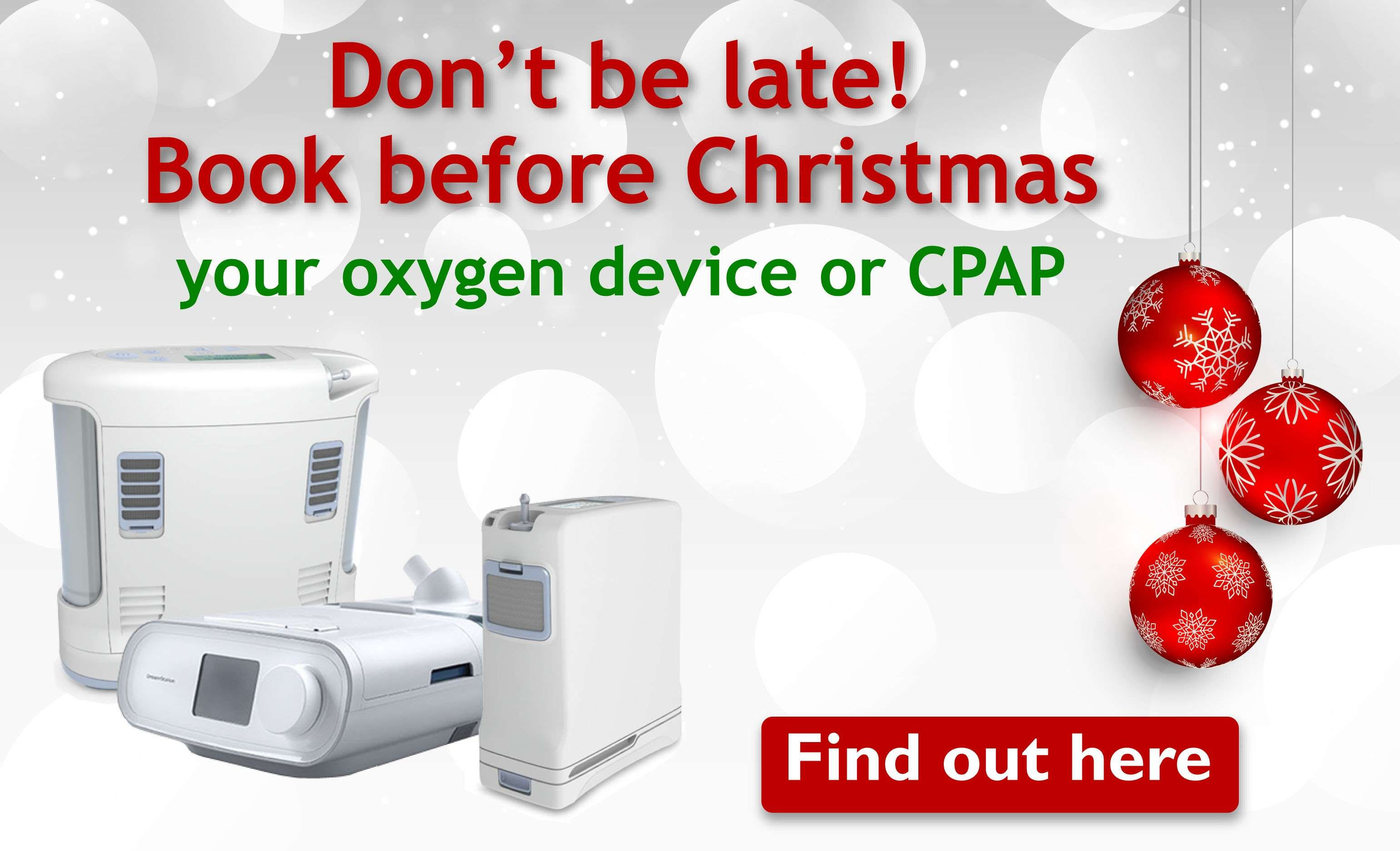 Book your device before Christmas!